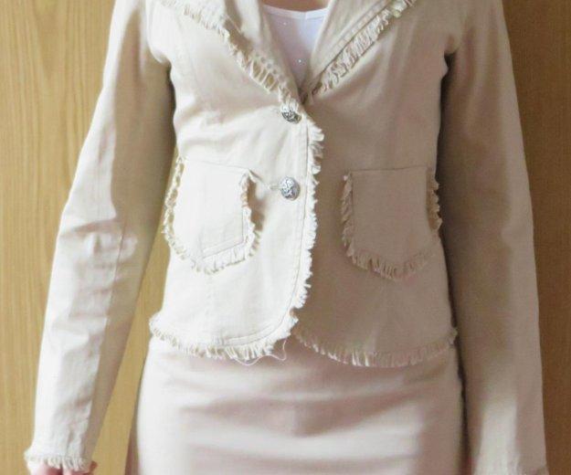 Костюм - пиджак и юбка. Фото 1. Муром.