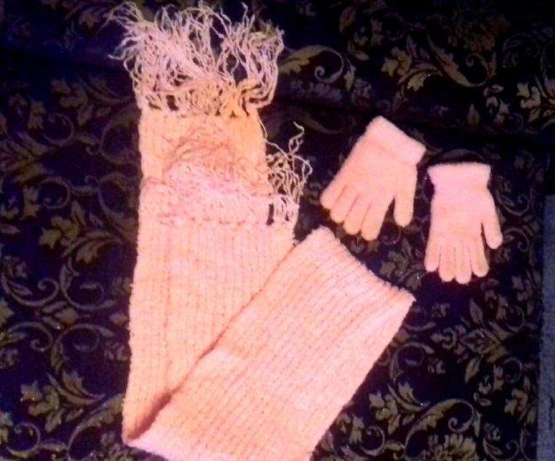 Шарфик и перчатки. Фото 1. Уфа.