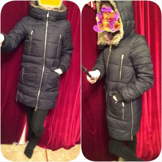 Куртка зимняя женская. Фото 1.