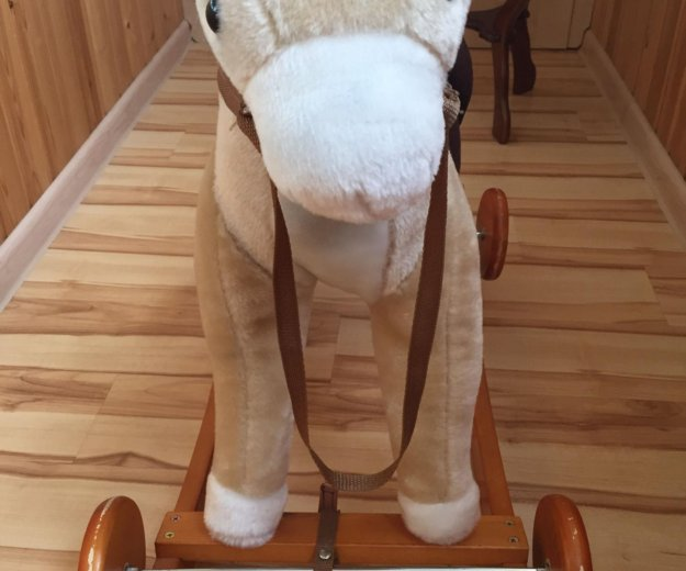 Лошадь-качалка со звуком. Фото 4. Москва.