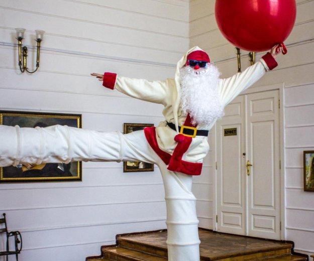 Санта на праздник, дед мороз на новый год, ходули. Фото 4. Ростов-на-Дону.
