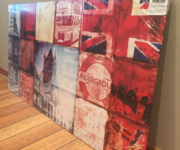 """Картина """"лондон"""", 100*50 см. Фото 1. Москва."""