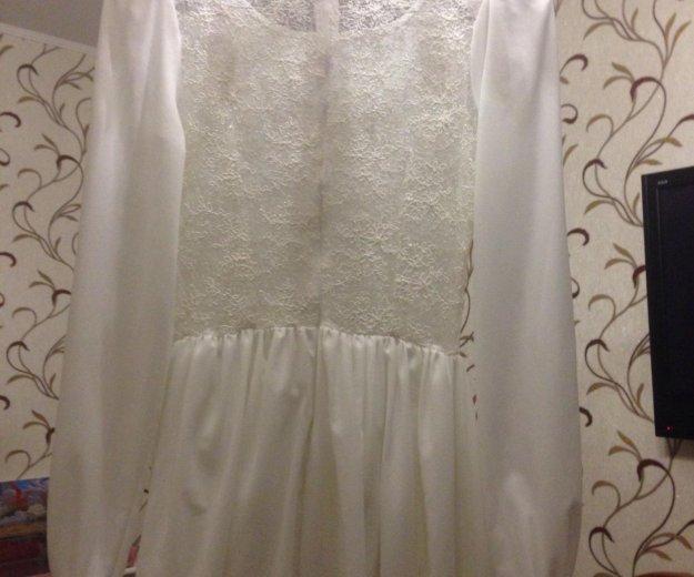 Платье свадебное золотой песок. Фото 3. Наро-Фоминск.