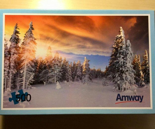 Паззл (пазл) зимний лес (500 шт). Фото 1. Москва.