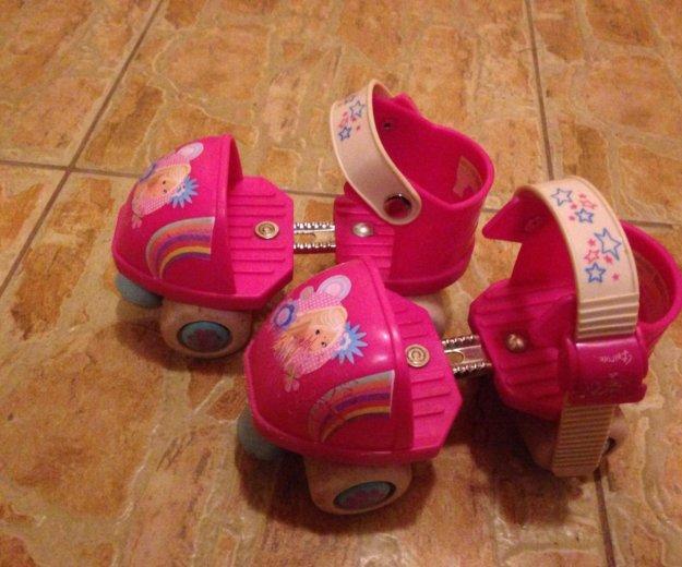 Оригинальные ролики barbie для маленьких. Фото 1. Москва.