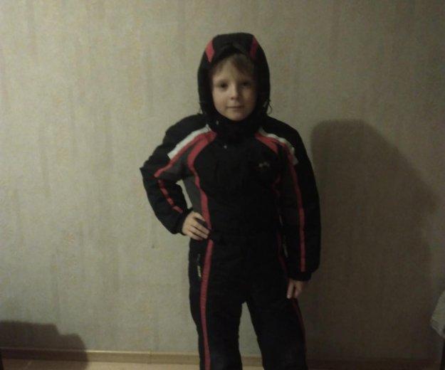 Зимний комбенизон для мальчика. Фото 1. Лобня.