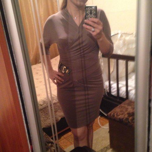 Красивое платье цвета капучино. Фото 1. Москва.