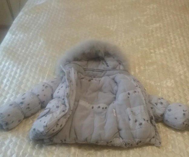 Куртка зимняя детская. Фото 3.