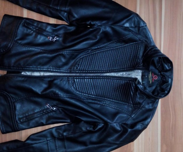 Натуральная кожаная куртка. Фото 2. Лыткарино.