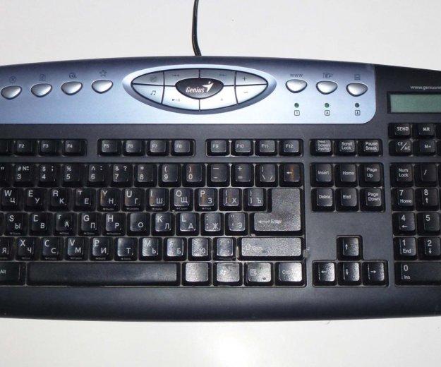 Клавиатура с калькулятором ps/2. Фото 1. Москва.