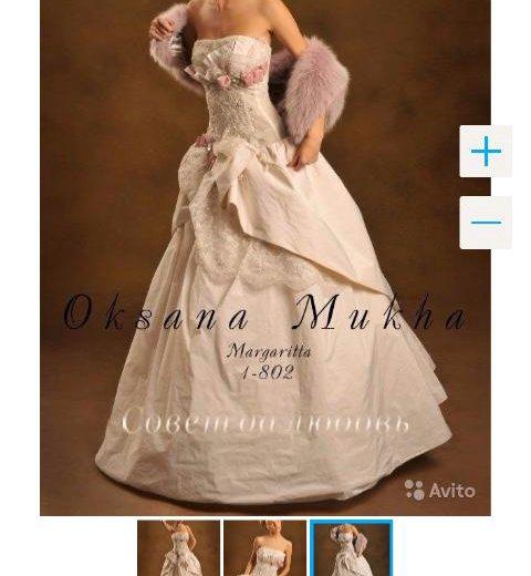 Свадебное платье оксаны мухи. Фото 1. Москва.