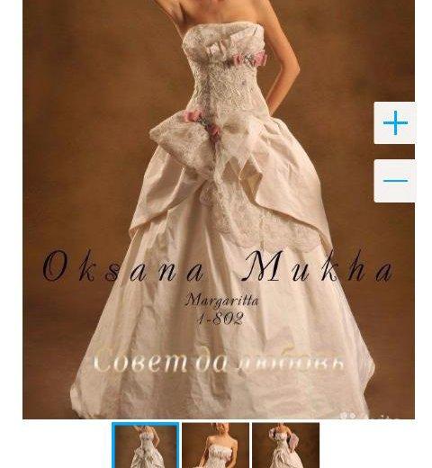 Свадебное платье оксаны мухи. Фото 3. Москва.