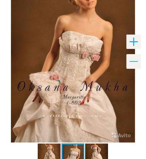 Свадебное платье оксаны мухи. Фото 2. Москва.