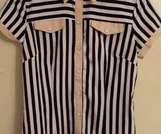 Рубашка с коротким рукавом. Фото 1. Москва.