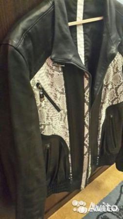 Кожаная куртка. Фото 1. Мытищи.