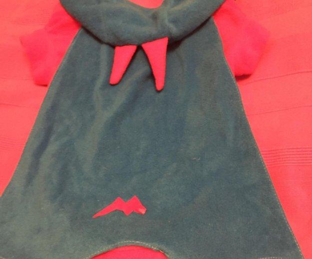 Костюм   карнавальный ( синий с красным). Фото 4.