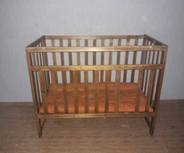 Детская кроватка отдам. Фото 1. Томск.
