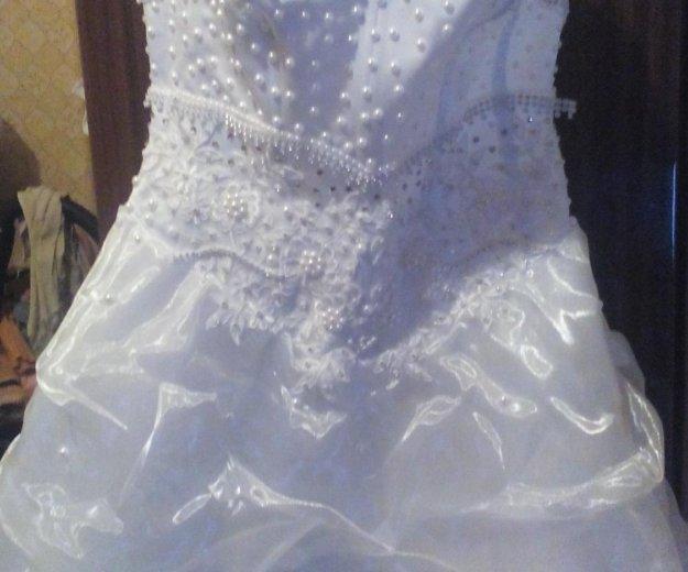 Продам свадебное платье размер 44-42. Фото 1. Егорьевск.