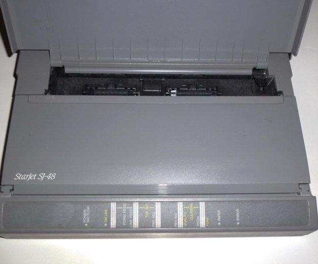 Портативный струйный принтер starjet sj-48. Фото 1. Москва.