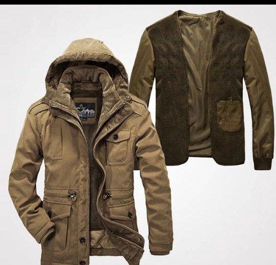 Куртка мужская зимняя. Фото 4. Арзамас.
