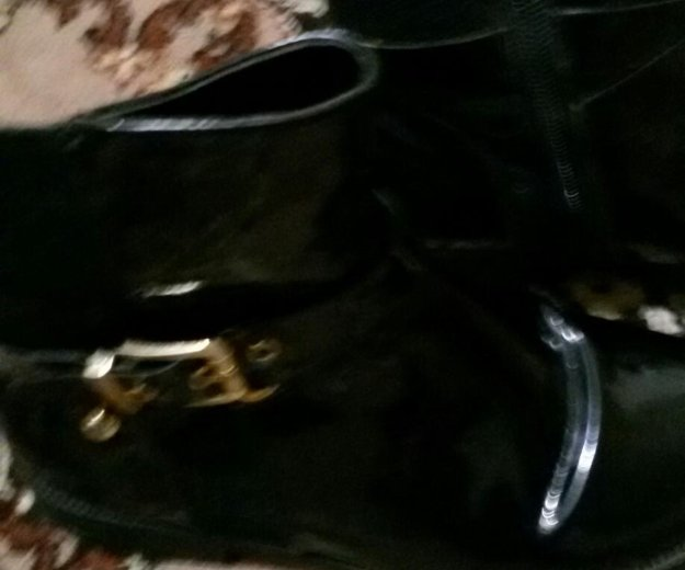 Ботинки осень. Фото 2. Бор.