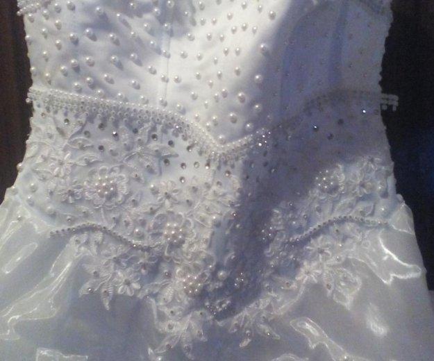 Продам свадебное платье размер 44-42. Фото 2. Егорьевск.