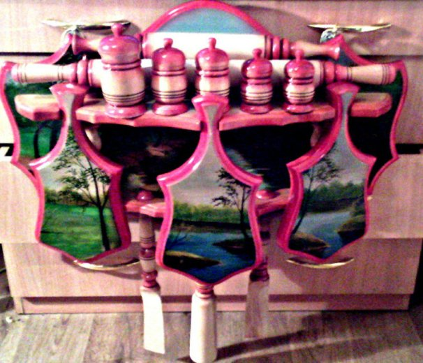 Кухонный набор ручной работы. Фото 1.