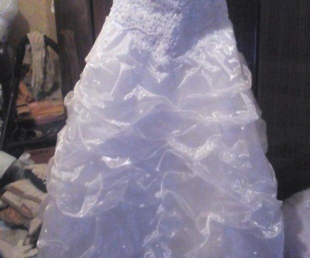 Продам свадебное платье размер 44-42. Фото 3. Егорьевск.