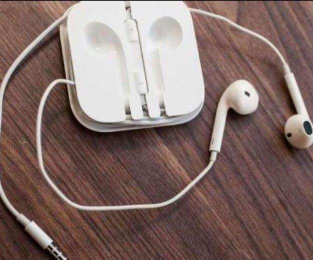 Наушники apple. Фото 1. Сургут.