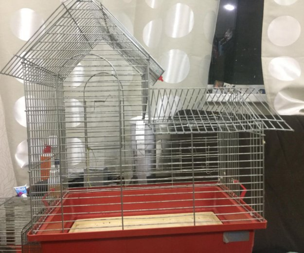 Клетка для попугая. Фото 1. Санкт-Петербург.