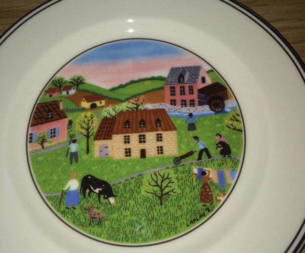 Villeroy boch design naif салатные тарелки. Фото 2. Москва.