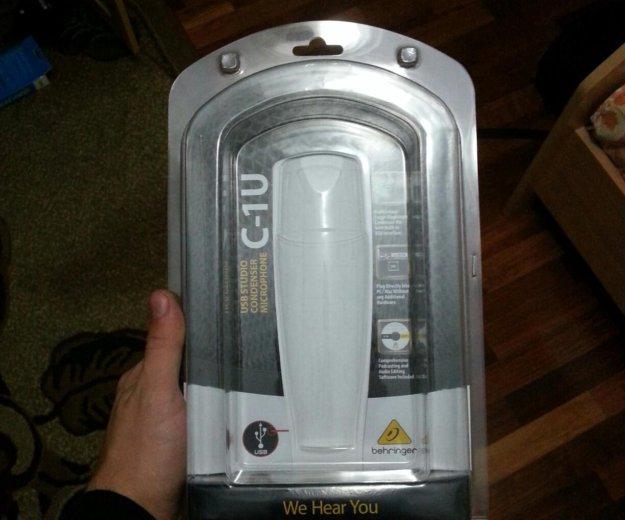 Студийный микрофон behringer c-1u. Фото 4.