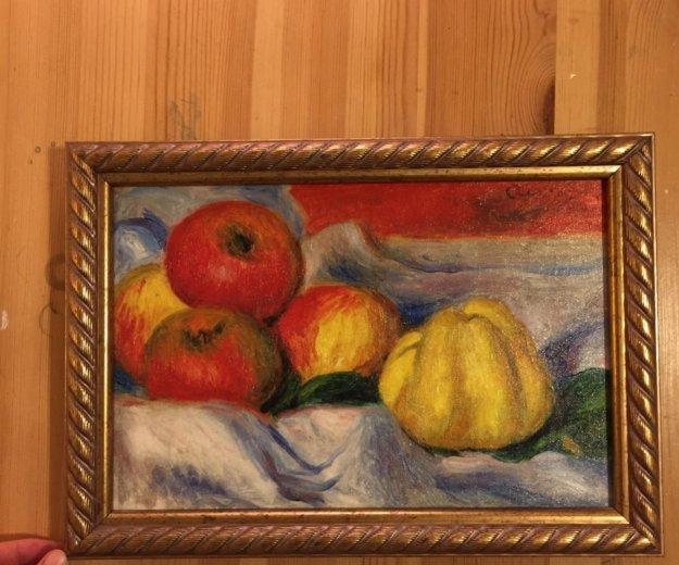 Картина маслом живопись печать на холсте багет. Фото 1. Санкт-Петербург.