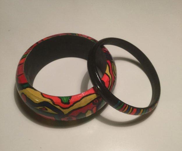 Деревянные браслеты. Фото 1.