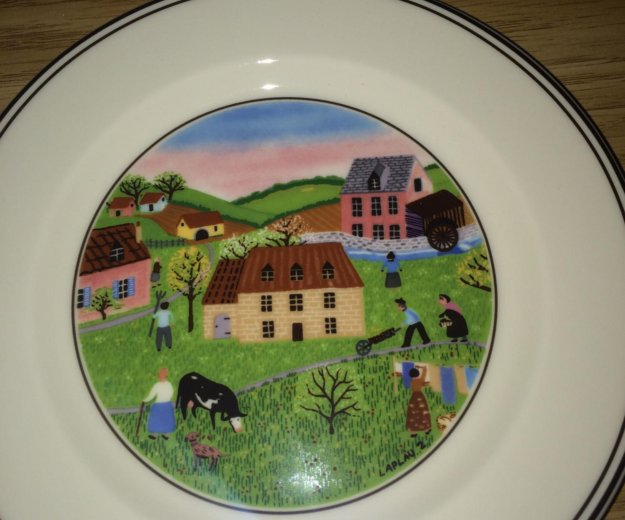 Villeroy boch design naif пирожковые тарелки. Фото 2. Москва.