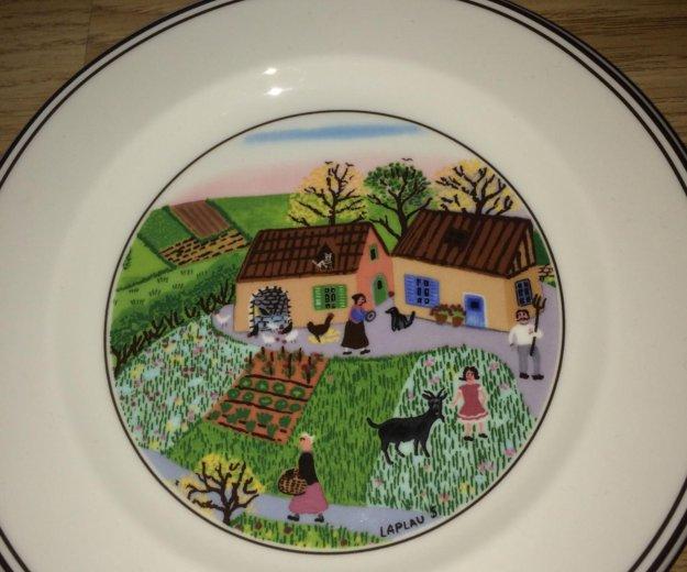 Villeroy boch design naif пирожковые тарелки. Фото 3. Москва.