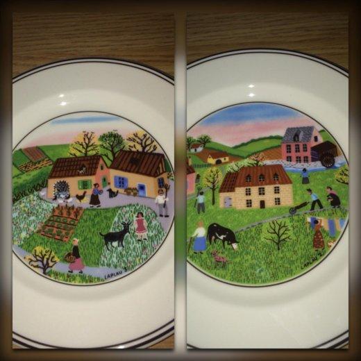 Villeroy boch design naif пирожковые тарелки. Фото 1. Москва.