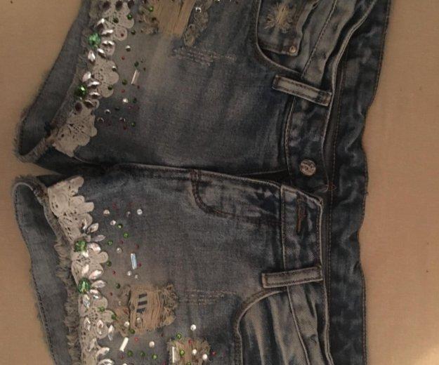 Шорты джинсовые на 42/44. Фото 1. Набережные Челны.