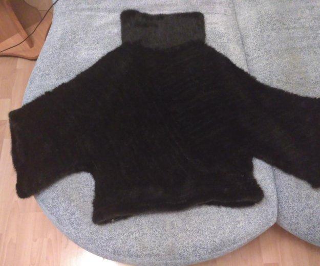 Куртка из вязанной  норки. Фото 1.