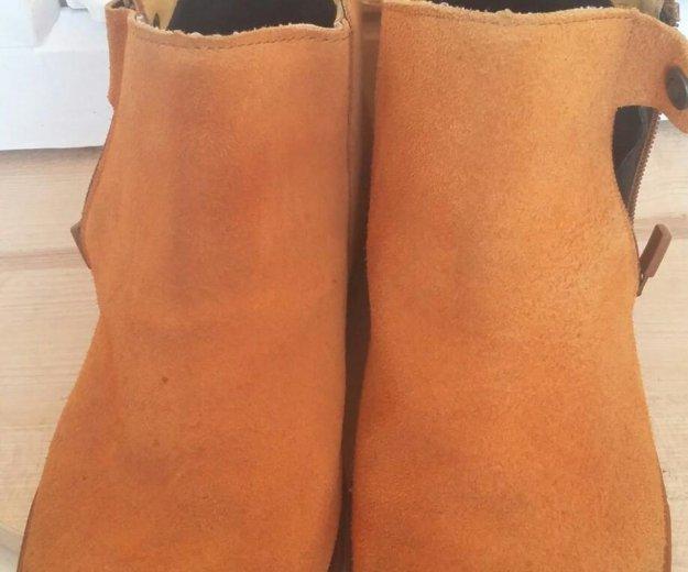 Замшевые ботинки. Фото 2. Гатчина.