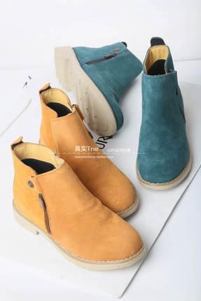 Замшевые ботинки. Фото 1. Гатчина.