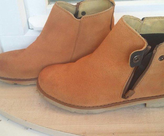 Замшевые ботинки. Фото 3. Гатчина.