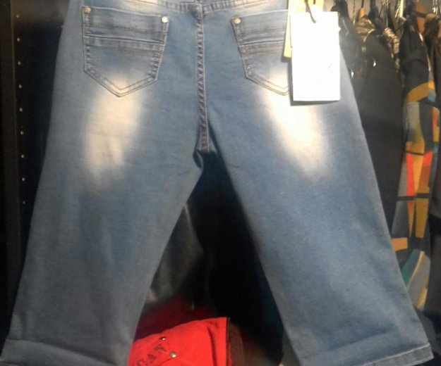 Капри джинсовые. Фото 4.