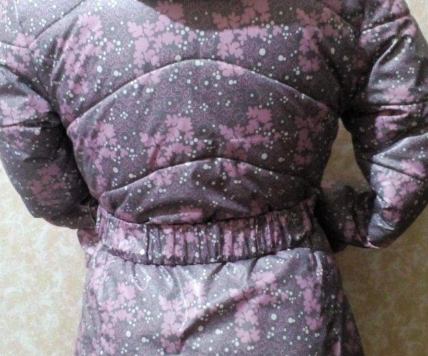 Куртка зимняя на девочку, лет 7-8. Фото 2.