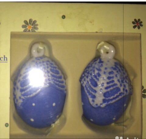 Villeroy boch мини-яйцо 2 шт, 6.5 см. Фото 1. Москва.