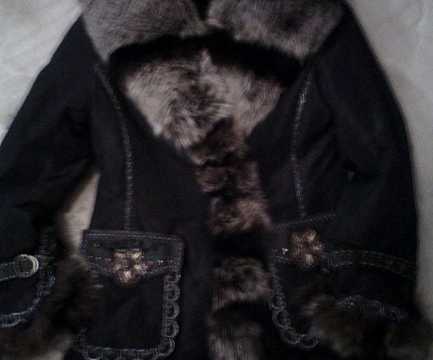 Куртка зимняя с мехом(окрашенный песец). Фото 1. Санкт-Петербург.