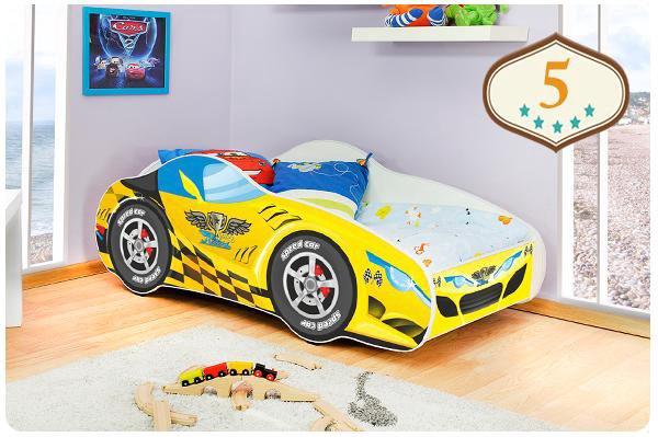 Кровать auto cars 140x70. Фото 1. Калининград.
