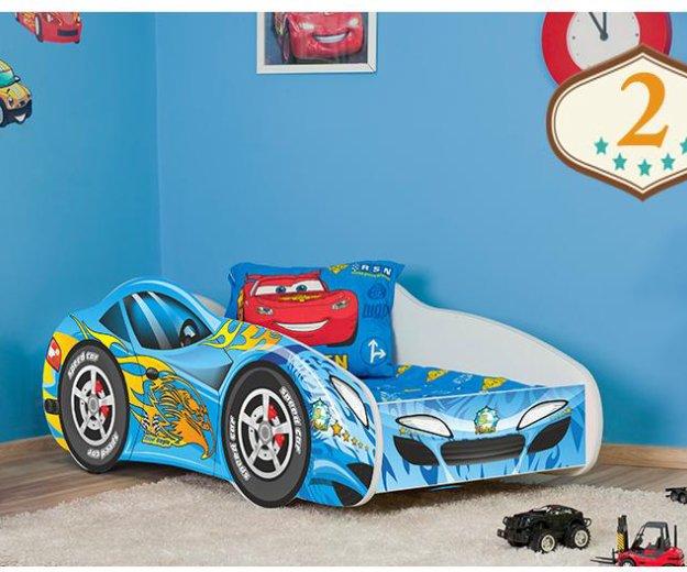 Кровать auto cars 140x70. Фото 3. Калининград.