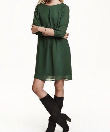 Шифоновое платье h&m. Фото 1. Челябинск.