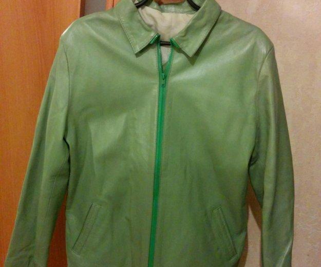 Кожаная куртка. Фото 1. Железнодорожный.